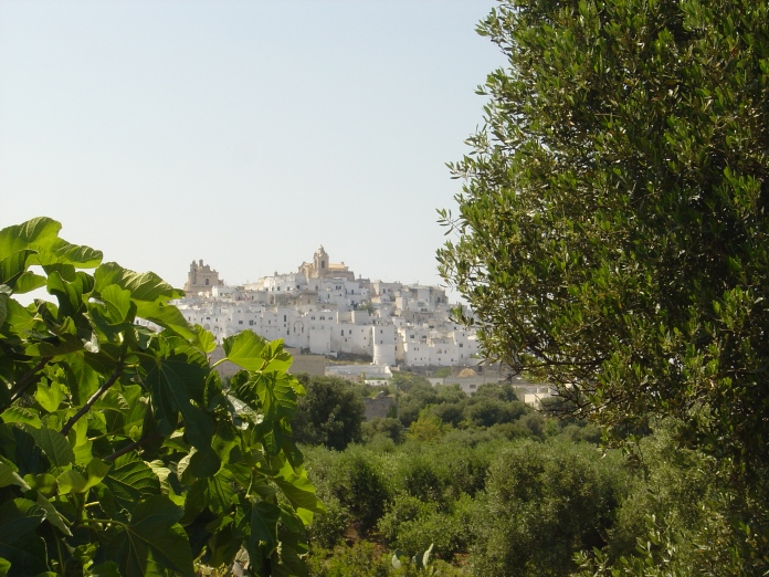 a view of Ostuni